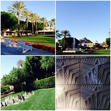 arizona biltmore, arizona luxury resort, phoenix resort, phoenix lodging, escapade, blog, par josianne, franklin lloyd wright