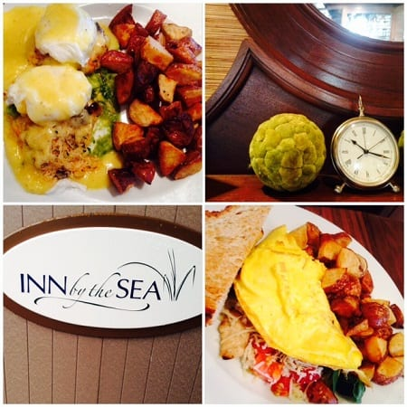 Breakfast at the Sea Glass restaurant at the Inn By The Sea- Cape Elizabeth, Maine