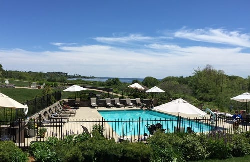 Pool at the Inn By The Sea- Cape Elizabeth,Me.