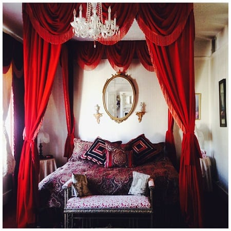 The Victorian Suite in Bisbee Grand Hotel in Arizona