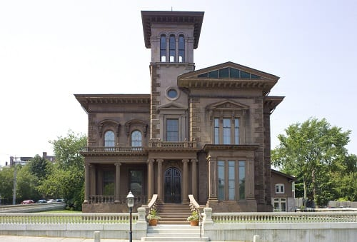Victoria Mansion in Portland, Maine