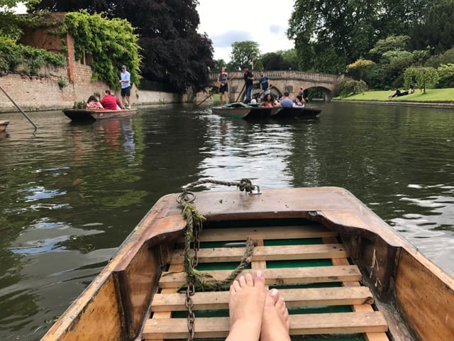 Quoi faire à Cambridge UK - punting