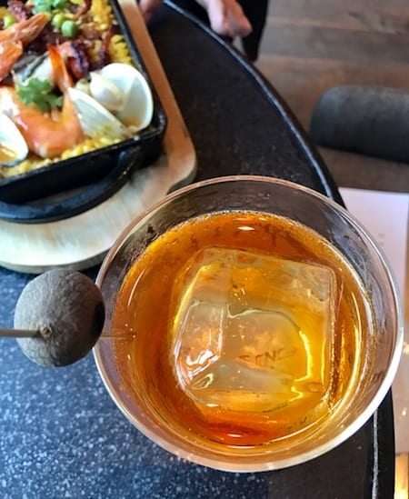 Old Fashion Cocktail at East End bar in Hotel Proverbs Taipei