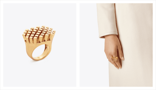 Tory Burch gold ring